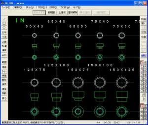 耐火二層管継手 DS(ソケット) Jw_cad 図形