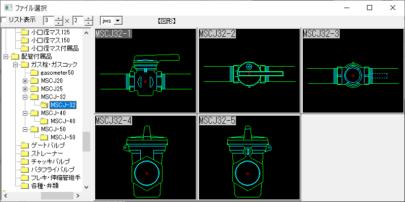 ガス栓 32A Jw_cad 図形