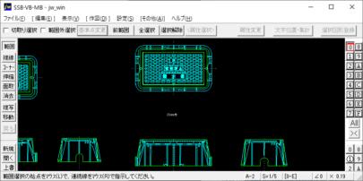 上水道用量水器ボックス(20 – 25mm用) Jw_cad データ