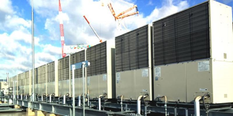 ヤンマー 「EXPOCITY」に国内最大規模のガスヒートポンプシステム