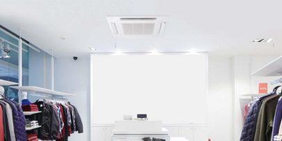 パナソニック 業務用エアコン4方向天井カセット形室内機を新発売