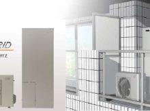 ハイブリッド給湯・暖房システム