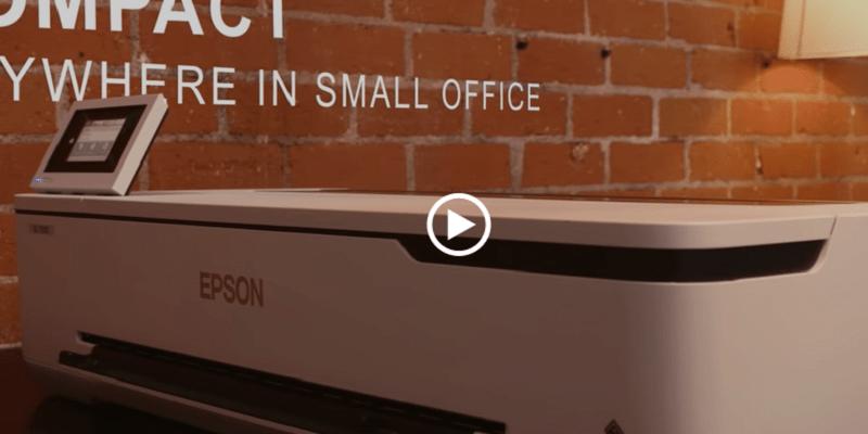 エプソン CAD向け小型軽量モデル、大判プリンターが新登場