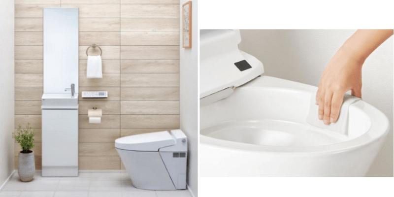 LIXIL フチレス形状を搭載、タンクレストイレ「SATIS Sタイプ」新発売