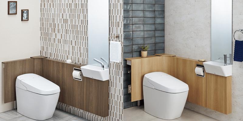 LIXIL INAXタンクレストイレ SATIS リトイレ 手洗器付を新発売