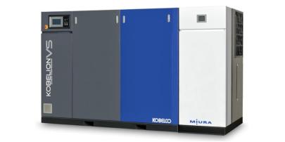 三浦工業 熱回収式電動エアコンプレッサ VA-1440CO
