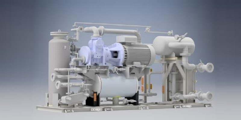 前川製作所 予兆診断が可能な新型チラーユニット「スマートチラー」
